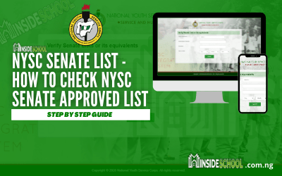 NYSC Senate List – How to Check NYSC Senate Approved List for Batch B