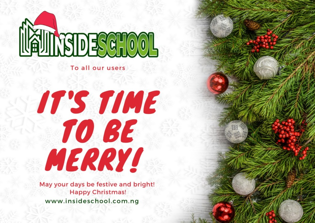 Insideschool merry christmas 1 1024x727 - Merry Christmas 2020: Greetings images, SMS, Messages, Quotes for Instagram , WhatsApp, Facebook status
