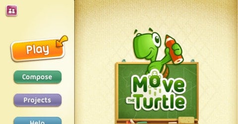Move the Turtle - Top 20+ Best Coding Apps for Kids and Teenagers [Free/ Paid]