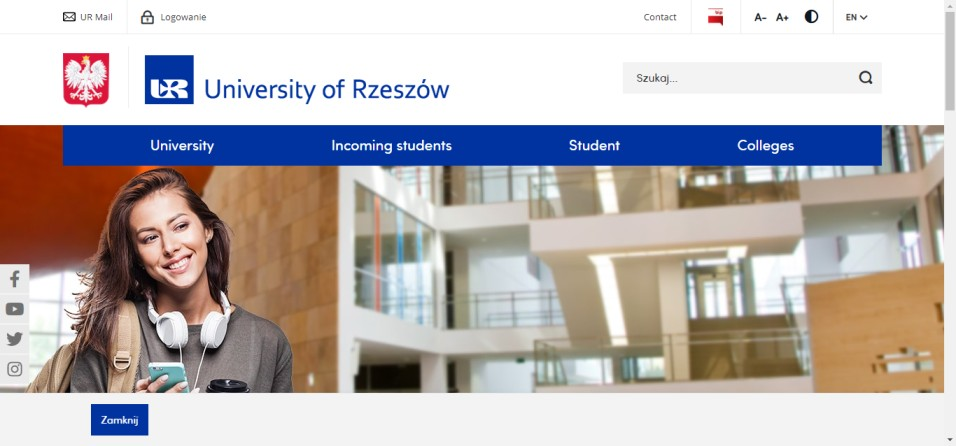University of Rzeszow - 10 Cheap Universities in Poland for International Students