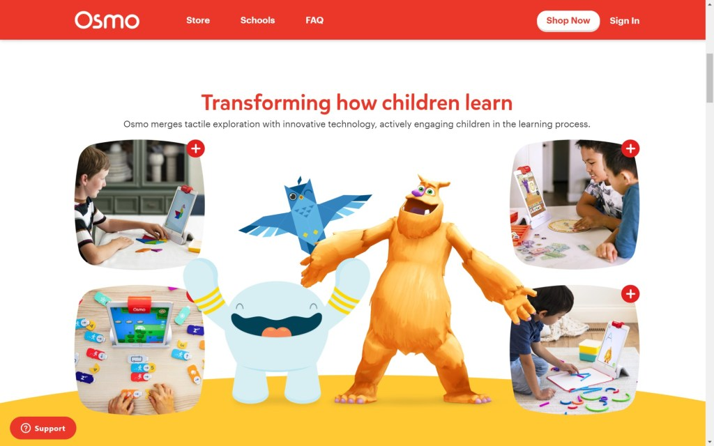 www.playosmo.com en Laptop with HiDPI screen 1024x640 - Top 20+ Best Coding Apps for Kids and Teenagers [Free/ Paid]