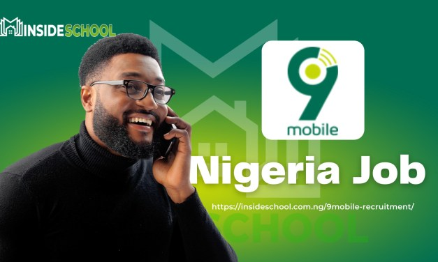 9mobile Nigeria Job Recruitment 2021 careers.9mobile.com.ng (15 Positions)