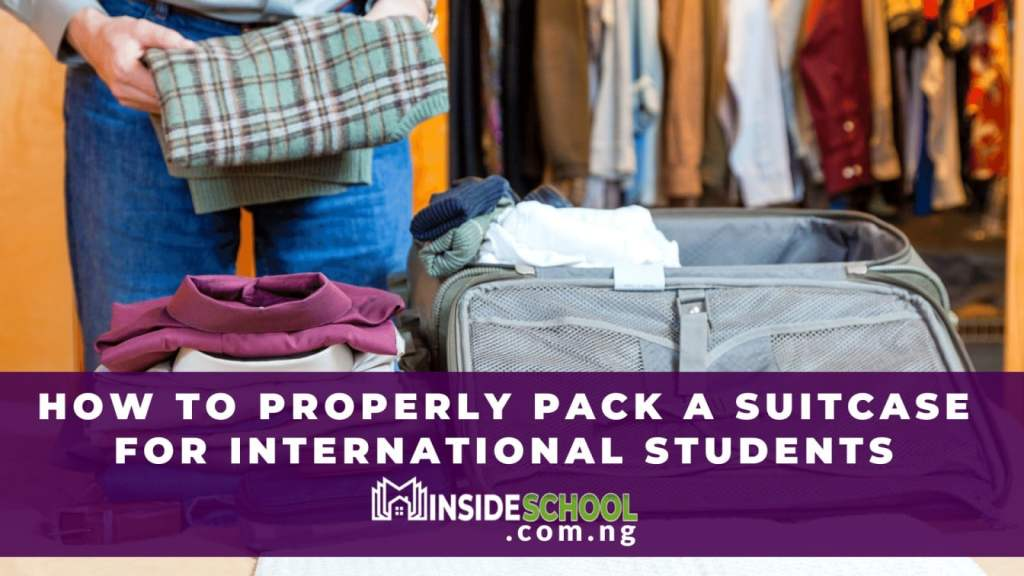 How to Pack a Suitcase for International Students 1024x576 - How to Pack a Suitcase for a Flight -International Students Guide