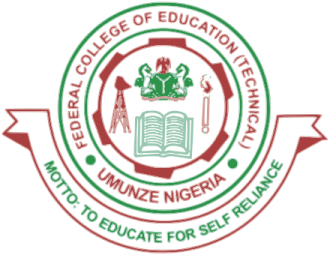 fcet logo - Federal College of Education (Technical) FCET Umunze NCE Admission List for 2020/2021 Academic Session