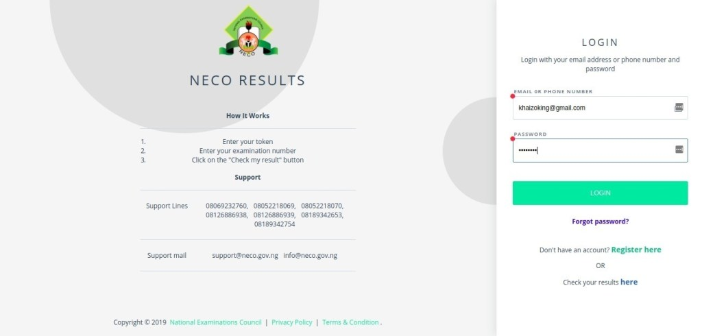 image 4 1024x490 - How to Purchase NECO Result Checker Token | SSCE & BECE