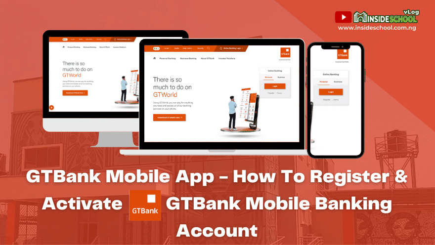 GTBank Mobile App - GTBank Mobile App - How To Register & Activate GTBank Mobile Banking Account