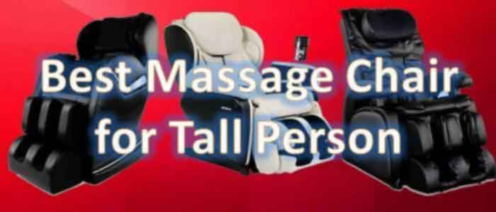 Massage Chair For Tall Person