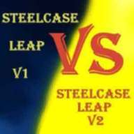 Steelcase Leap V1 vs V2