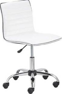 BTExpert Swivel Mid Back Armless Ribbed Designer Task Chair