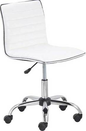 BTEXPERT BTExpert Swivel Mid Back Armless Ribbed Designer Task Chair