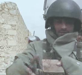 A Syrian sapper demined a bomb