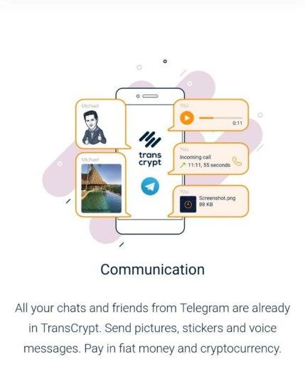 TransCrypt su Telegram