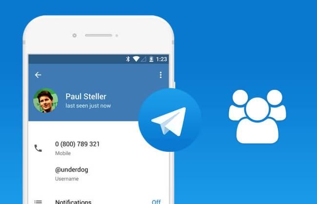 Telegram 4.7 multi-account