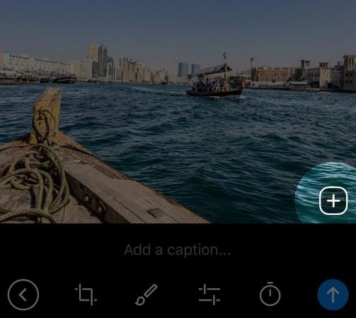 Telegram 4.8.5 multi-shot per Android e ios