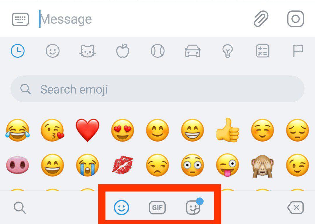 Telegram 55 Per Android E Ios Ricerca Emoji Insidetelegram