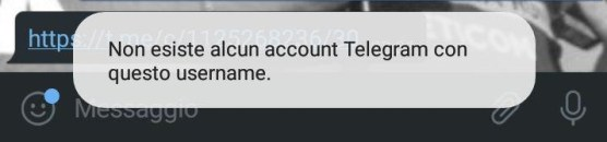Telegram 5.6 copia link messaggi gruppi e canali privati