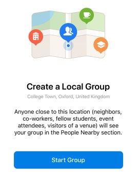 telegram 5.8 per android e ios crea gruppo locale