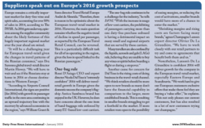 DFNI comment on Europe prospects - Jan 2016