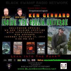 """Ken Gerhard is our guest on this First Ever Halloween Special edition of """"Inside The 🐲Goblin Universe ITGU"""""""