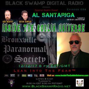 On the next Inside The Goblin Universe- Al Santariga