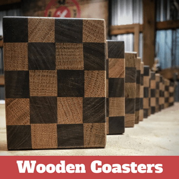Build Project: Wooden Coasters