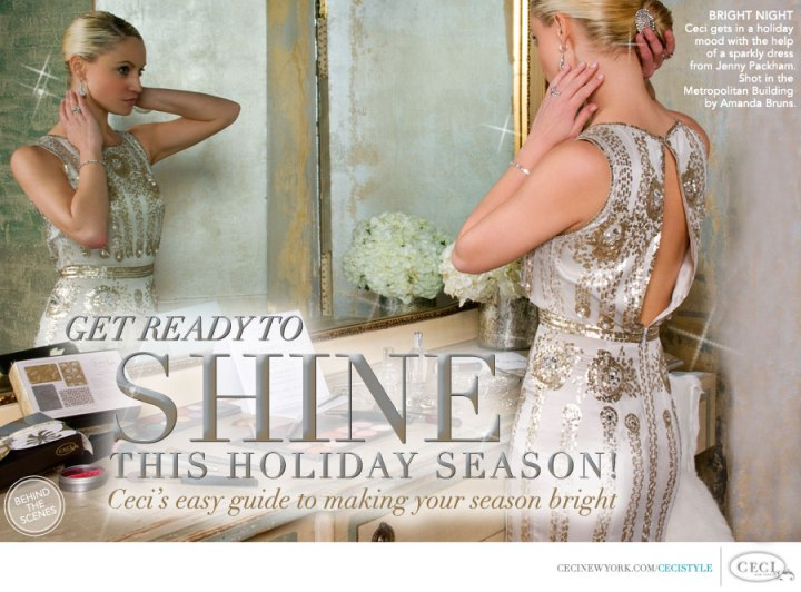 CeCi Style Holiday Issue featuring Brandy Gomez-Duplessis