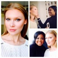 Connecticut Makeup Artist Brandy Gomez-Duplessis for Donna Karan Fashion Week