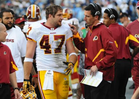 Former Washington Redskins Chris Cooley will join the O'Connell coaching staff
