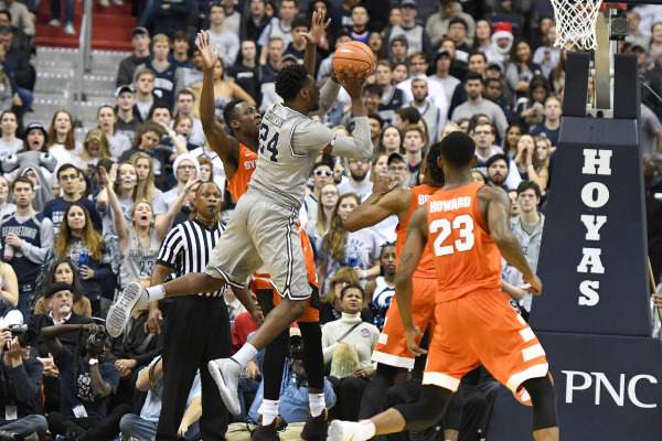 Syracuse defeats Georgetown 86-79 in overtime