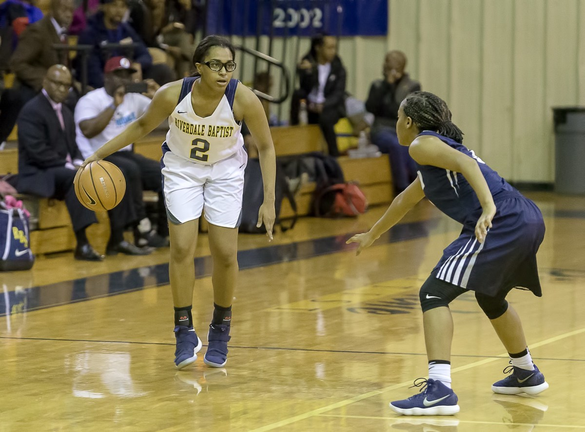Kaylah Ivey embraces her role as playmaker on Riverdale Baptist