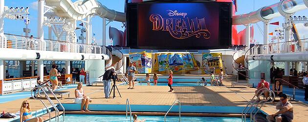 Video: Explore The Disney Dream Cruise Ship's Main Decks