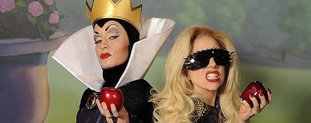 Lady Gaga visits Disney World, poses at Magic Kingdom with ...Disney Evil Queen Song