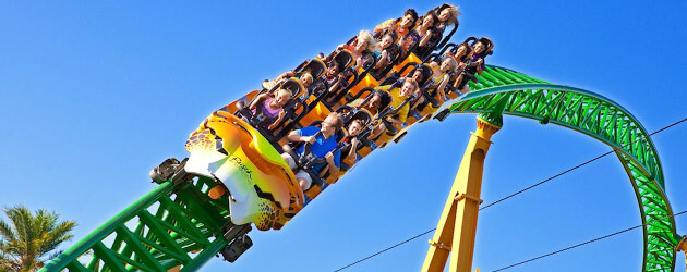 First Look Take A First Person Pov Ride On The New Cheetah Hunt Roller Coaster Opening At