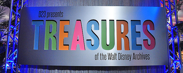 Preview Inside D23 S Treasures Of The Walt Disney Archives