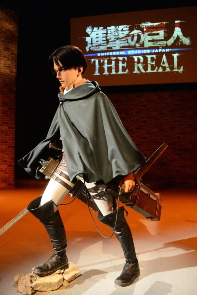 'Attack on Titan' attraction opens at Universal Studios ...