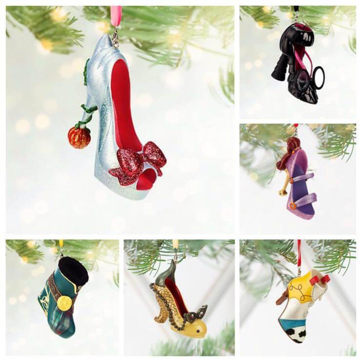 Christmas in July! New Disney shoe ornaments from Disney Store
