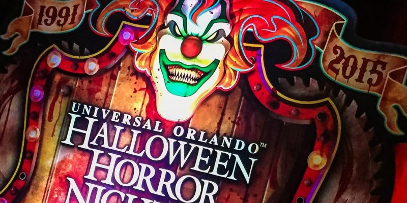 halloween horror nights universal orlando celebrates 25 years of screams with iconic host jack the clown and 9 haunted houses