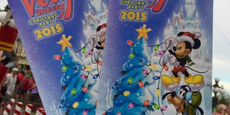 photos mickeys very merry christmas party 2015 guide map for walt disney worlds magic kingdom - Disney Christmas Party 2015