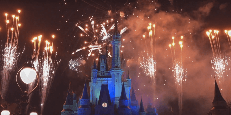 watch a live stream of the magic kingdom fireworks on new years eve