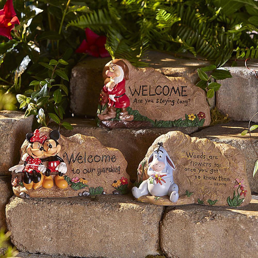 Disney garden rocks from Kmart | Inside the Magic