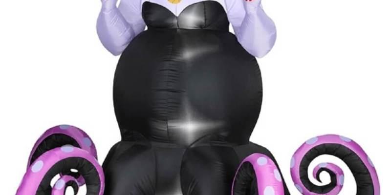 disney little mermaid ursula halloween inflatable