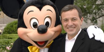 Bob Iger & Mickey Mouse