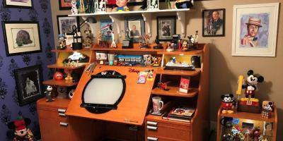 Walt Disney inspired art studio