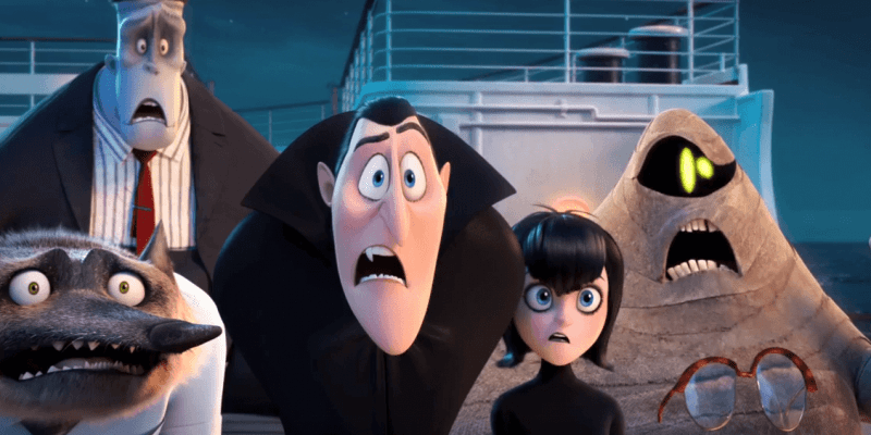 VIDEO First Trailer For Hotel Transylvania 3 A Monster Vacation Previews The Drac Pack Aboard Cruise Ship