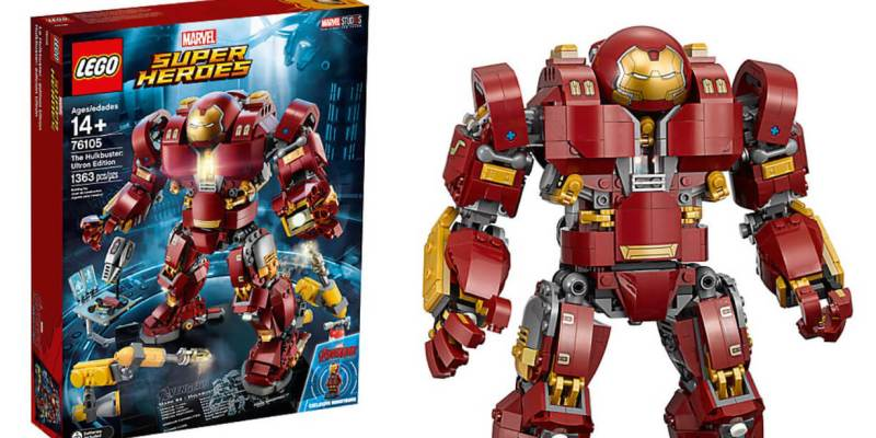 "PHOTOS: Giant new ""Iron Man"" Hulkbuster: Ultron Edition set ..."