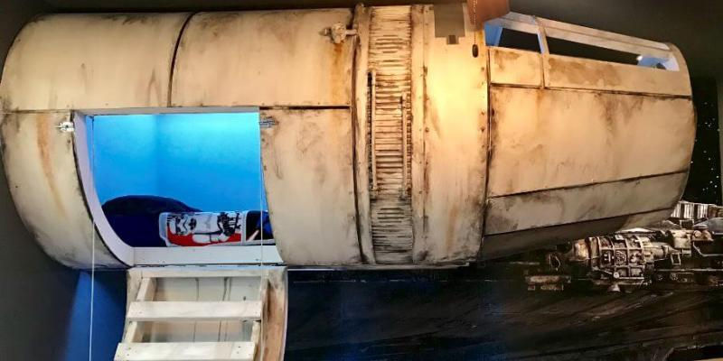 At Home Imagineering Star Wars Inspired Millennium Falcon Bed