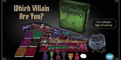 Disney Board Games Villainous