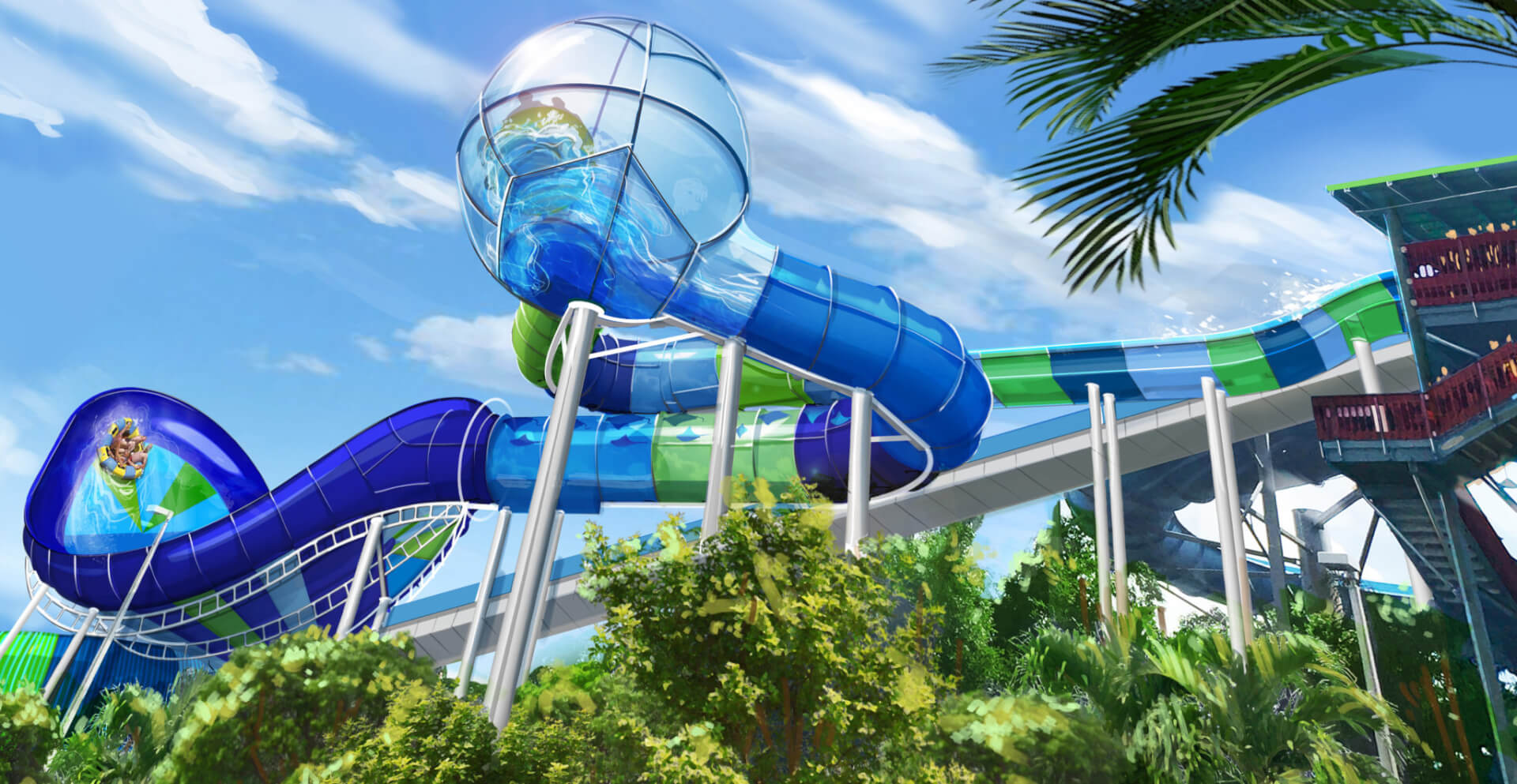 New attraction, 'Ray Rush,' to open at Aquatica Orlando on May 12th