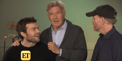 Harrison Ford surprises