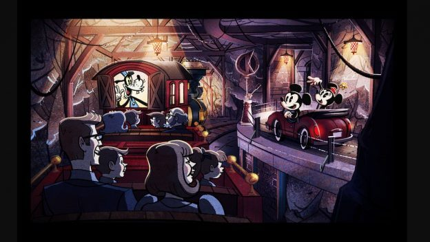 Photo Mickey Amp Minnie S Runaway Railway New Concept Art